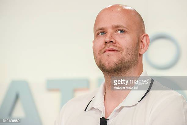 Daniel Ek founder and chief executive officer of Spotify attends the Cannes Lions 2016 on June 22 2016 in Cannes France