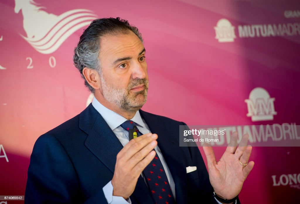 Daniel Entrecanales during Madrid Horse Week 2017 Presentation on November 14, 2017 in Madrid, Spain.