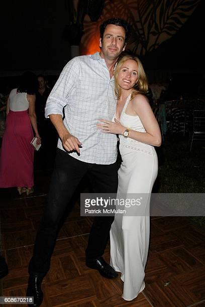 Daniel Entwistle and Kate Meckler attend LOVE HEALS The Alison Gertz Foundation for AIDS Education at Luna Farm Sagaponack on June 23 2007 in...
