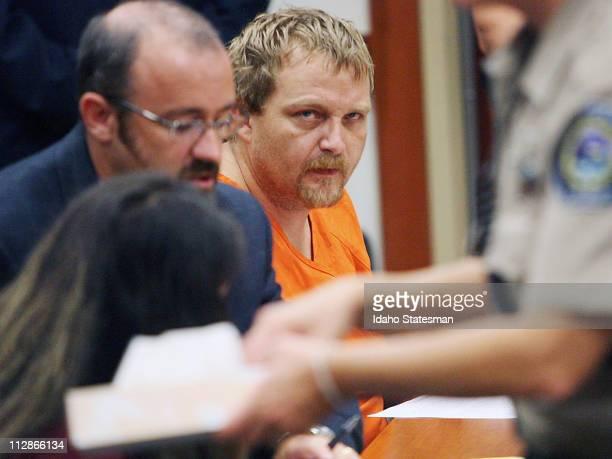 Daniel Erhlick Jr appeared for an arraignment hearing in Boise Idaho Wednesday August 19 2009 Erhlick and girlfriend Melissa Scott Jenkins were...