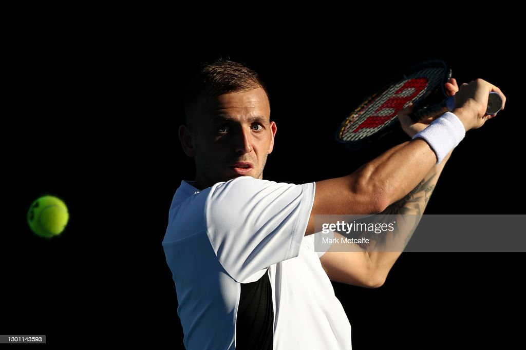 2021 Australian Open: Day 2 : Fotografía de noticias