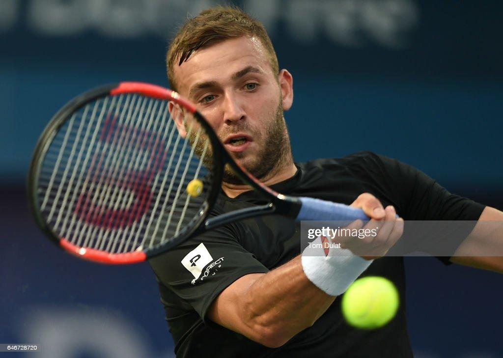 ATP Dubai Duty Free Tennis  Championship - Day Four : News Photo