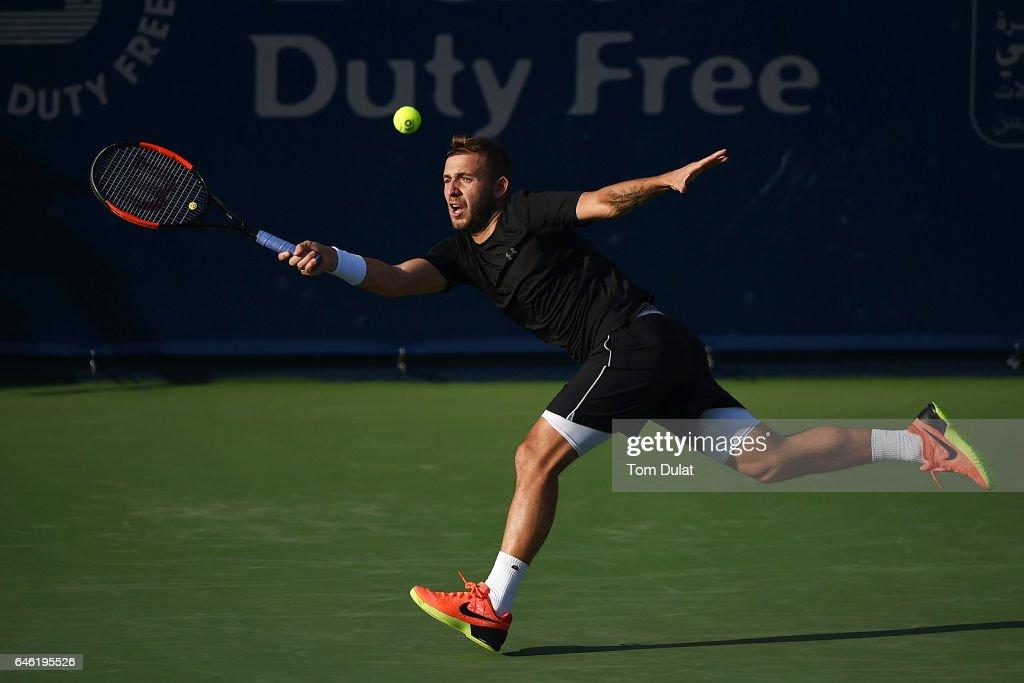ATP Dubai Duty Free Tennis  Championship - Day Three