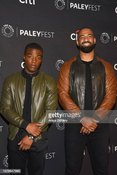 Daniel Ezra and Spencer Paysinger from 'All American' attend The Paley Center for Media's 2018 PaleyFest Fall TV Previews The CW at The Paley Center...