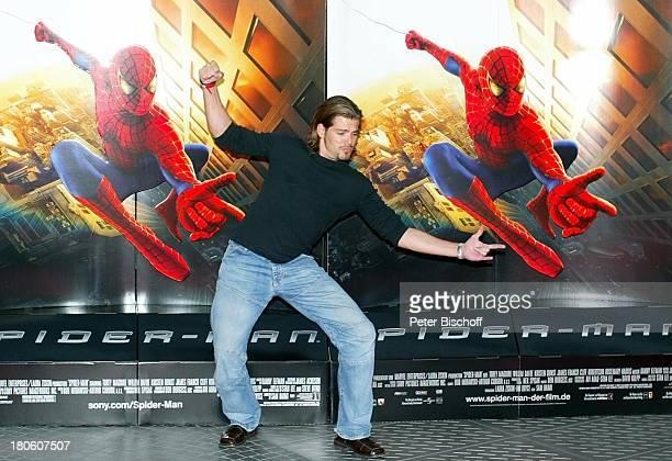 Daniel Fehlow DeutschlandPremiere vom USKinoFilm 'Spiderman' CineStar im Sony Center Potsdamer Platz Berlin
