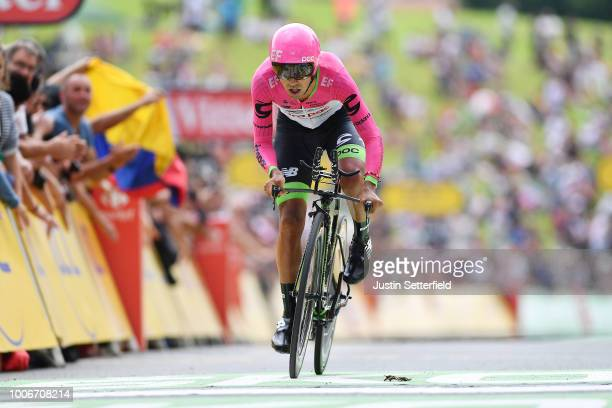Daniel Felipe Martinez of Colombia and Team EF Education First - Drapac P/B Cannondale / during the 105th Tour de France 2018, Stage 20 a 31km...