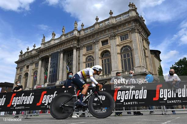 Daniel Felipe Martinez Poveda of Colombia and Team INEOS Grenadiers during the 104th Giro d'Italia 2021, Stage 1 a 8,6km Individual Time Trial stage...