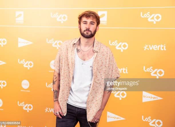 Daniel Fernandez attends LOS40 Primavera Pop festival at Madrid WiZink Center on May 17 2019 in Madrid Spain