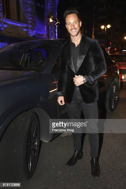 Daniel Fox attends the Porsche at Blue Hour Party hosted by ARD during the 68th Berlinale International Film Festival Berlin at Museum fuer...