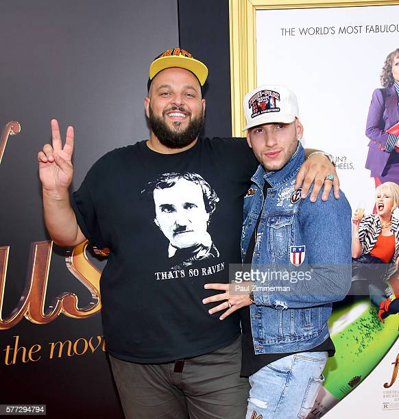 Daniel Franzese and Joseph Bradley attend 'Absolutely Fabulous The Movie' New York Premiere at SVA Theater on July 18 2016 in New York City