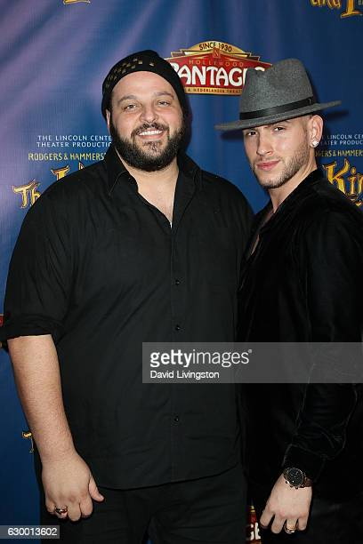 Daniel Franzese and Joseph Bradley Phillips arrive at the Opening Night of The Lincoln Center Theater's Production Of Rodgers and Hammerstein's 'The...