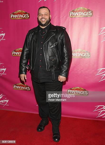 Daniel Franzese attends Opening Night Of 'Dirty Dancing The Classic Story On Stage' at the Pantages Theatre on February 2 2016 in Hollywood California