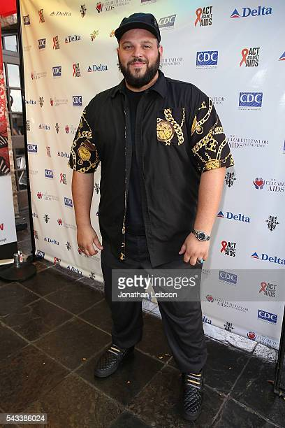 Daniel Franzese attends The Elizabeth Taylor AIDS Foundation Cohosts National HIV testing Day With The CDC's Act Against AIDS at The Abbey in West...