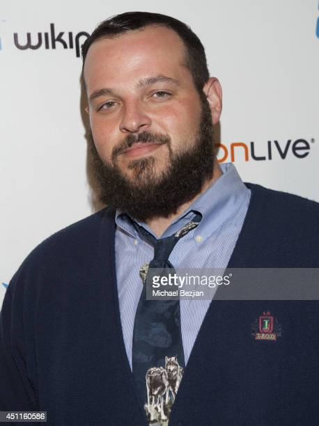 Daniel Franzese attends Wikipad OnLive E3 Party at Elevate Lounge on June 11 2014 in Los Angeles California