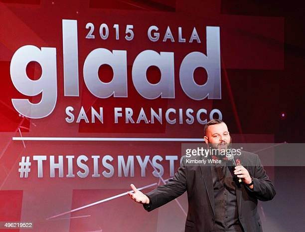 Daniel Franzese hosts the GLAAD Gala at the Hilton San Francisco on November 7 2015 in San Francisco California