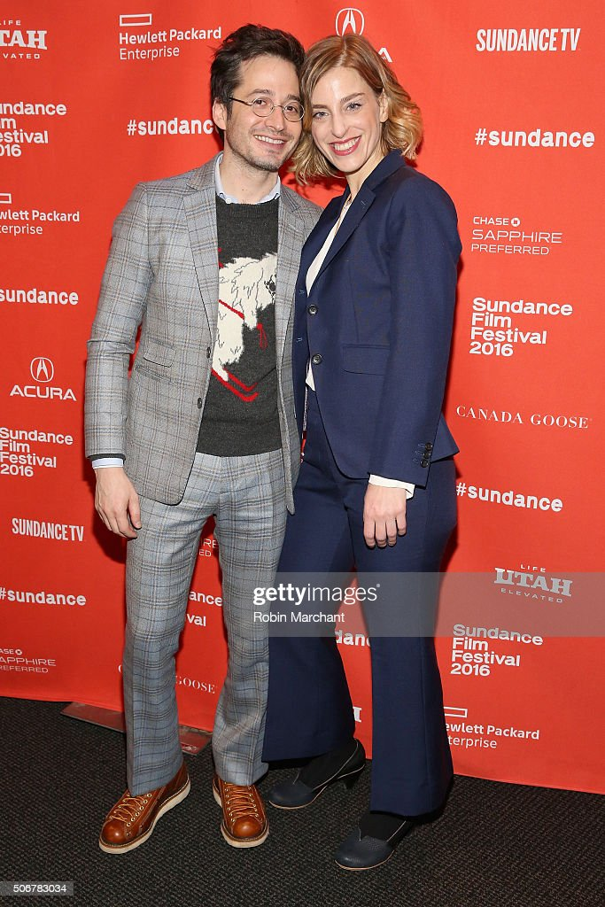 Daniel Friedman and Daphne Moked attend the 'Suited' Premiere during the 2016 Sundance Film Festival at Temple Theater on January 25, 2016 in Park City, Utah.