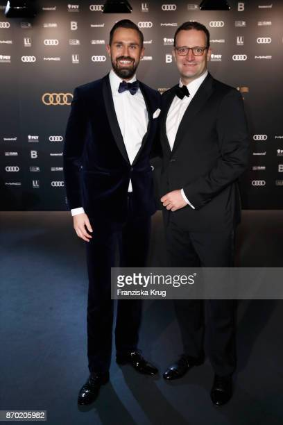 Daniel Funke and german politician Jens Spahn attend the 24th Opera Gala at Deutsche Oper Berlin on November 4 2017 in Berlin Germany
