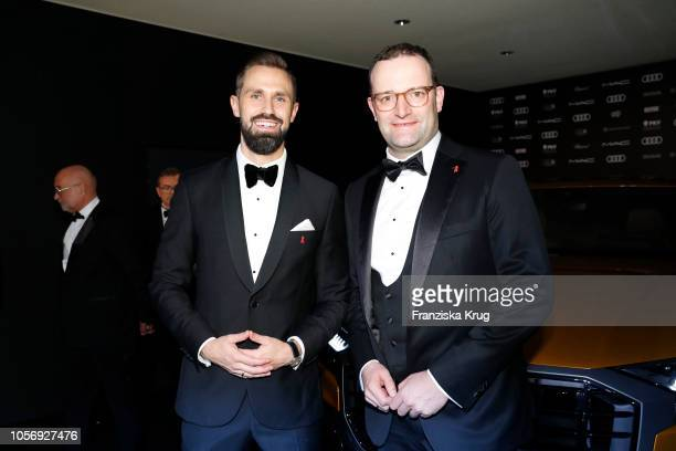 Daniel Funke and Jens Spahn attend the 25th Opera Gala at Deutsche Oper Berlin on November 3 2018 in Berlin Germany