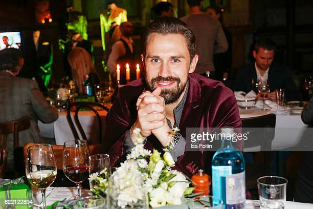 Daniel Funke attends the La Martina x GQ PreDinner on November 9 2016 in Berlin Germany