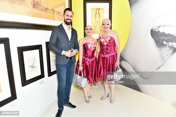 Daniel Funke Eva and Adele attend Art Basel Miami Beach VIP Preview at Miami Beach Convention Center on November 30 2016 in Miami Beach Florida