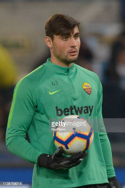 Daniel Fuzato during the Italian Serie A football match between SS Lazio and AS Roma at the Olympic Stadium in Rome on march 02 2019