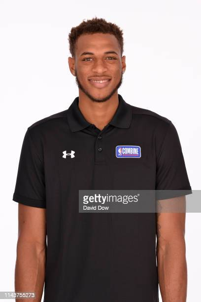 Daniel Gafford poses for a head shot at the 2019 NBA Draft Combine on May 14 2019 at the Chicago Hilton in Chicago Illinois NOTE TO USER User...