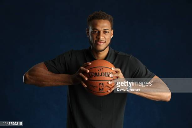 Daniel Gafford poses for a portrait at the 2019 NBA Draft Combine on May 14, 2019 at the Chicago Hilton in Chicago, Illinois. NOTE TO USER: User...