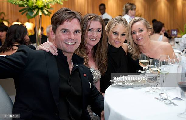 Daniel Galvin Junior and Michelle Dewberry attends The Prince's Trust Spring Ball at The Hurlingham Club on May 10 2012 in London England