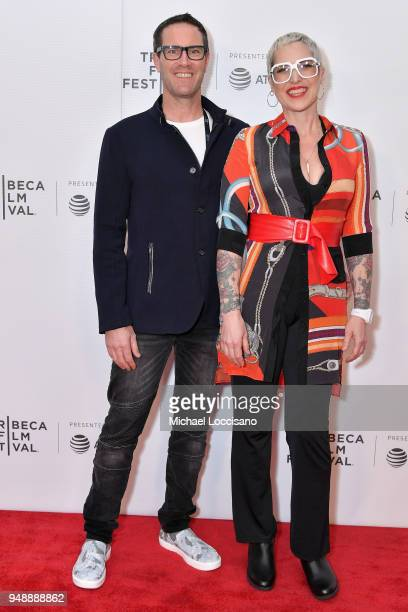 Daniel Gambelin and Tess Sweet of Cleaner Daze attends the Tribeca NOW Showcase during the 2018 Tribeca Film Festival at Regal Battery Park 11 on...