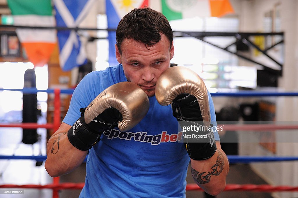 Daniel Geale and Paul Gallen Sparring Session
