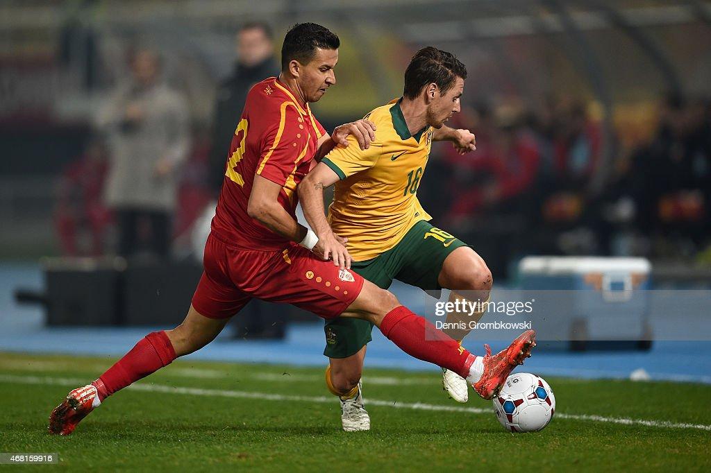 Macedonia v Australia - International Friendly