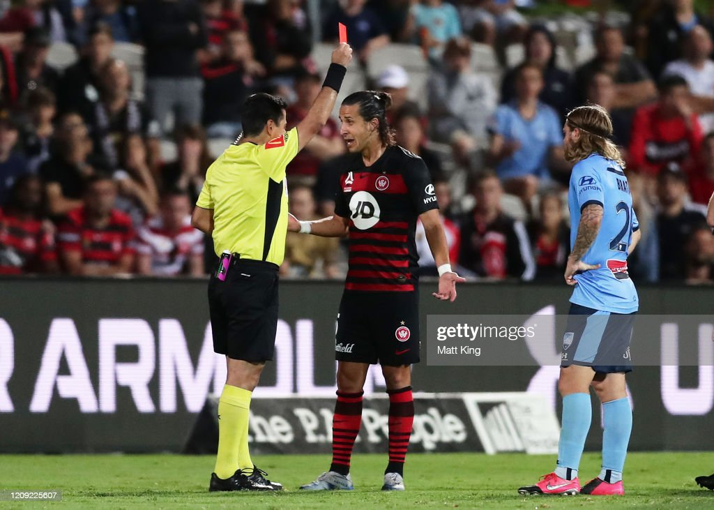 A-League Rd 18 - Sydney v Western Sydney : News Photo
