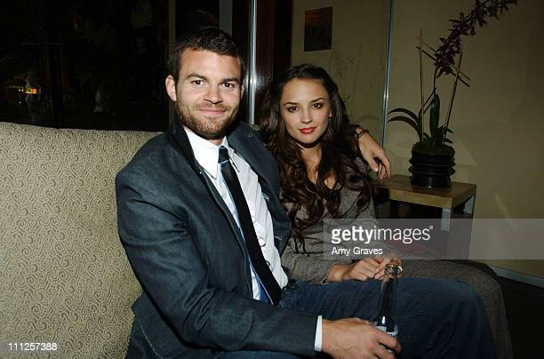 Daniel Gillies and Rachael Leigh Cook during MAC Cosmetics After Party for the Louis Verdad 2006 Spring Collection at Sunset Marquis in West...