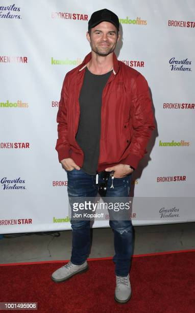 Daniel Gillies attends premiere of Gravitas Ventures' 'Broken Star' at TCL Chinese 6 Theatres on July 18 2018 in Hollywood California