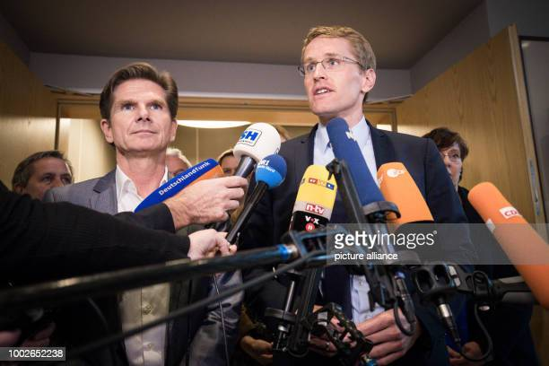 Daniel Günther state party leader of Germany's Christian Democratic Union in SchleswigHolstein and state party leader ofGermany's Free Democratic...