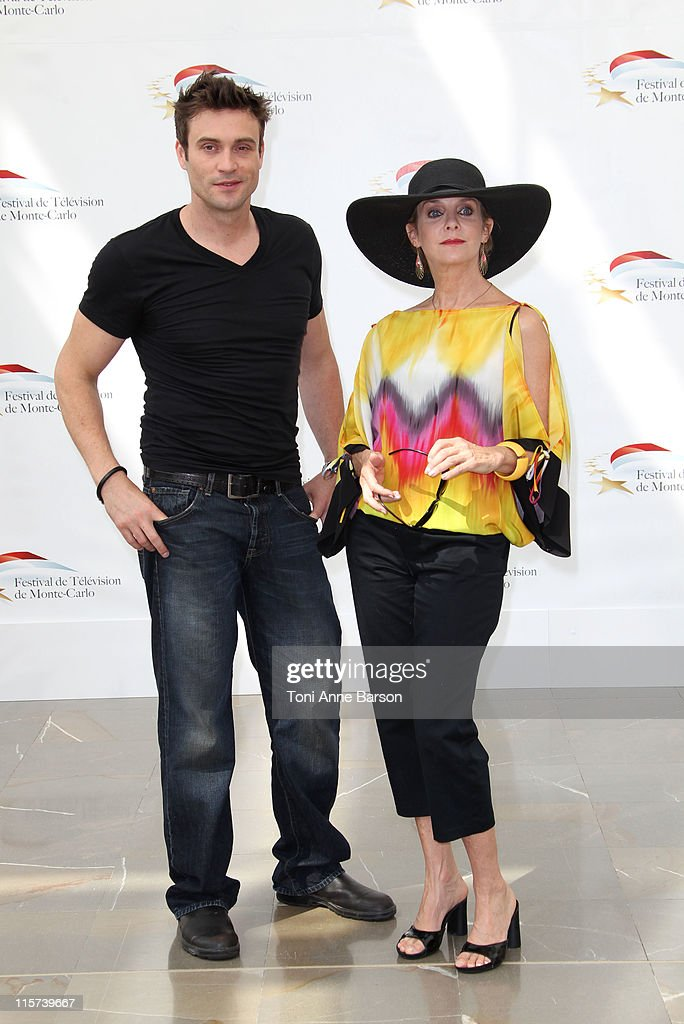Daniel Goddard and Judith Chapman attends Photocall for 'The Young And The Restless' during the 51st Monte Carlo TV Festival on June 9, 2011 in Monaco, Monaco.