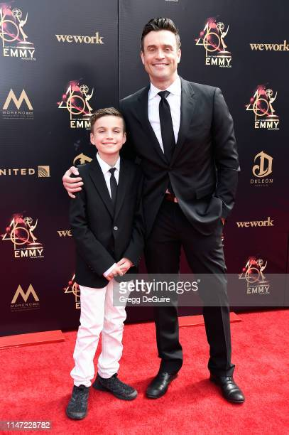 Daniel Goddard attends the 46th annual Daytime Emmy Awards at Pasadena Civic Center on May 05 2019 in Pasadena California