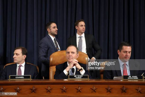 Daniel Goldman attorney and director of investigations with the House Intelligence Committee and House Intelligence Committee Chairman Adam Schiff...