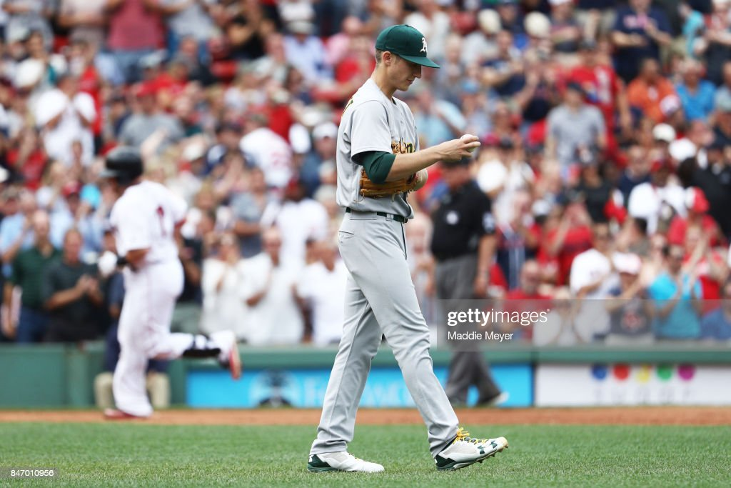 Oakland Athletics v Boston Red Sox