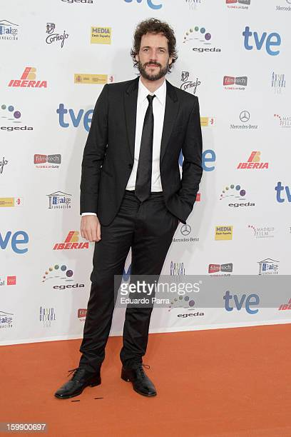 Daniel Grao attends Jose Maria Forque awards photocall at Canal theatre on January 22 2013 in Madrid Spain