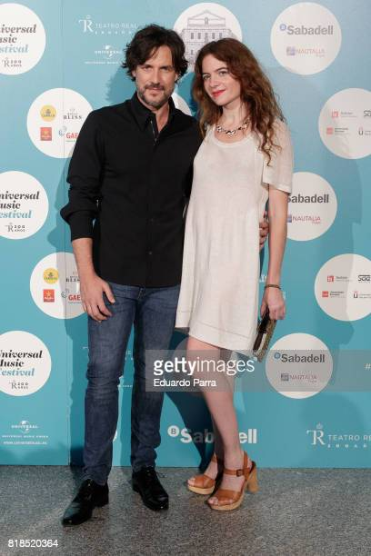 Daniel Grao attendts the 'Michel Camilo Tomatito concert' photocall at Royal Theatre on July 18 2017 in Madrid Spain