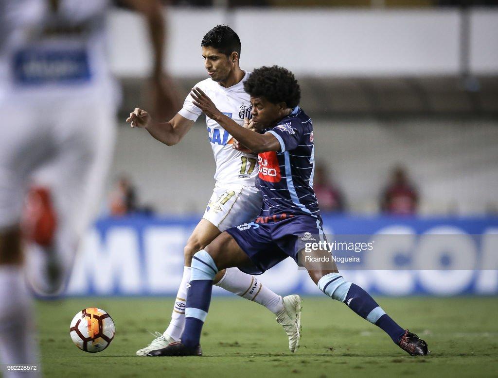 Santos v Real Garcilaso - Copa CONMEBOL Libertadores 2018