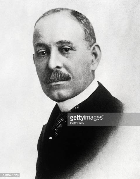 Daniel Hale Williams famed Negro Surgeon founder of Provident Hospital pioneer in heart surgery Head and shoulders photo Undated Photo