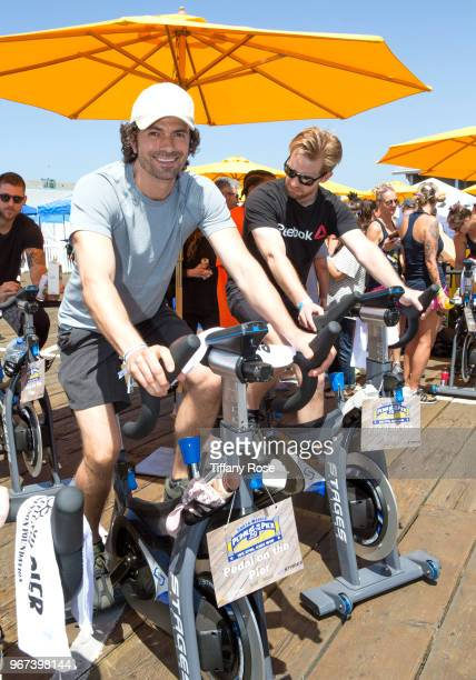Daniel Hall attends the 8th Annual Pedal On The Pier Fundraiser at Santa Monica Pier on June 3 2018 in Santa Monica California