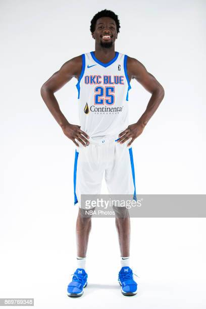Daniel Hamilton of the Oklahoma City Blue poses for a portrait during the NBA GLeague media day at the Blue Development Center in Edmond Oklahoma on...