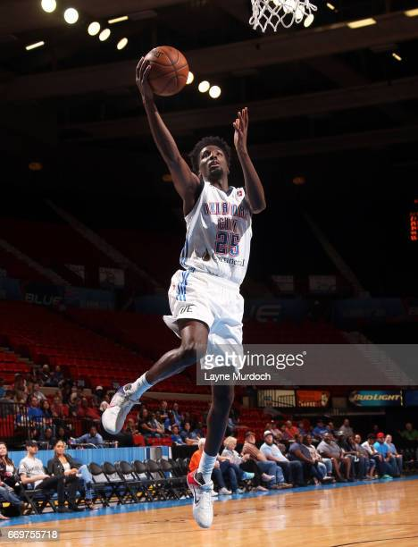 Daniel Hamilton of the Oklahoma City Blue shoots against the Rio Grande Valley Vipers during the first round of an NBA DLeague playoff game on April...