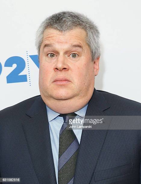 Daniel Handler attends 'Lemony Snicket's A Series of Unfortunate Events' New York Screening at Buttenwieser Hall on January 12 2017 in New York City