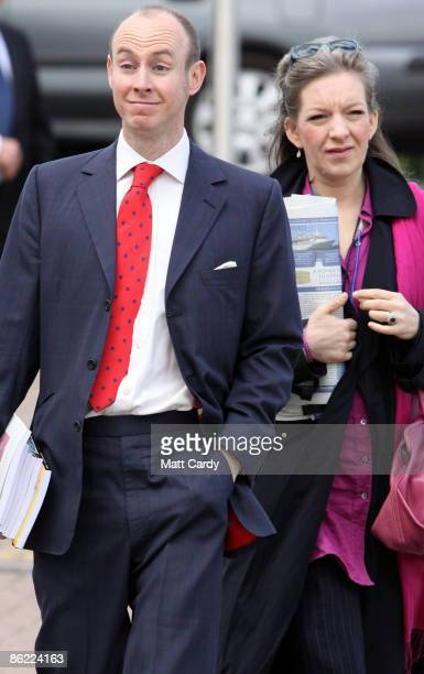 Daniel Hannan MEP and his wife Sara arrive at the Conservative Party Spring Forum on April 26 2009 in Cheltenham England Daniel Hannan's blistering...