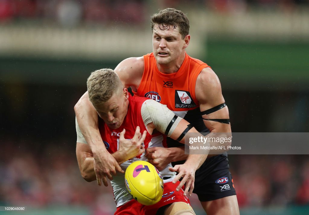 AFL Second Elimination Final - Sydney v GWS : News Photo