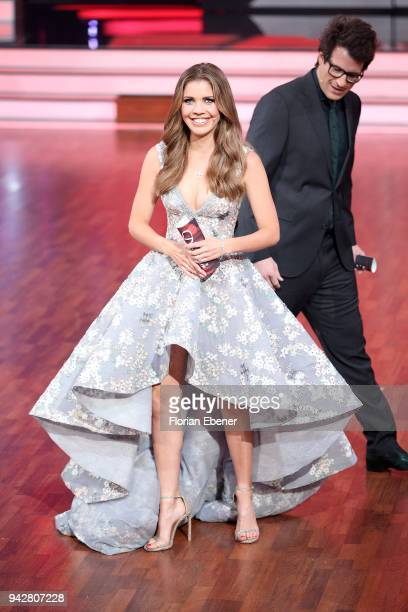 Daniel Hartwich and Victoria Swarovski during the 3rd show of the 11th season of the television competition 'Let's Dance' on April 6 2018 in Cologne...
